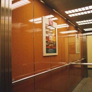 Aufzug im Ibis Hotel in Berlin - Friedrichshain