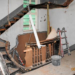 Frühklassizistische Treppenanlage von 1794