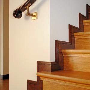Treppe einer Maisonettewohnung in Berlin - Mitte