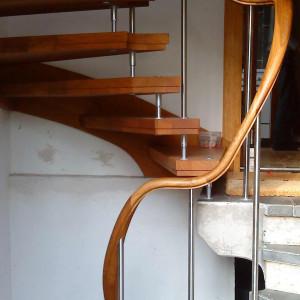 Treppe in Glienicke-Nordbahn