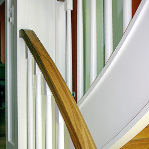 Treppenanlage in einer Villa in Berlin - Frohnau