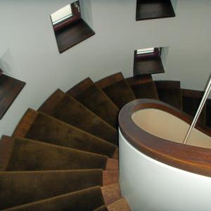 Treppenhaus in der Auguststraße