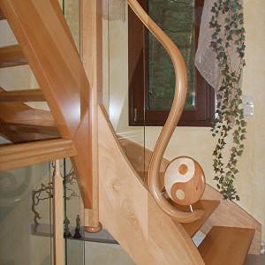Wohnhaustreppe in Töpchin